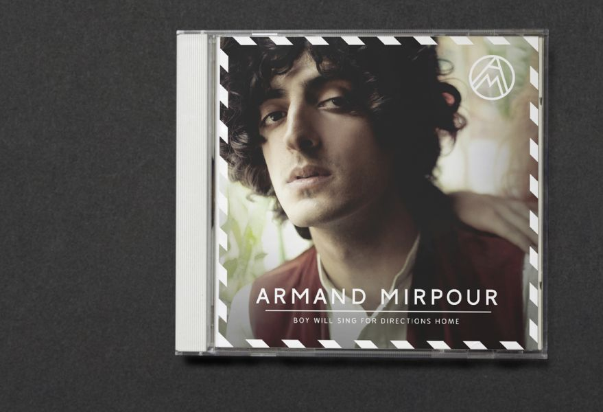 Armand Mirpour is a song writer and artist based in Stockholm. I was commissioned to create an overall aesthetic around Armand's music. I also designed a logotype, a monogram and artwork. In the spring of 2012 I created the concept and visual theme for Armand's first full length album... by Johan Hemgren